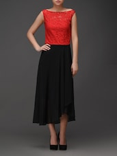 Red And Black Dress - Eavan