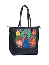 Floral Printed P.U Hand Bag - Alonzo
