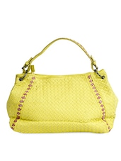 Braided Shoulder Bag With Sling - Alonzo