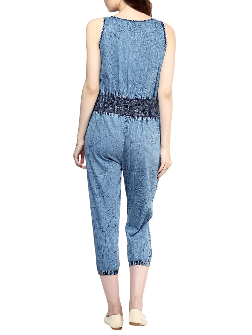 19934f646926 Buy Blue Denim 34 Jumpsuit for Women from Stylestone for ₹1162 at 47% off