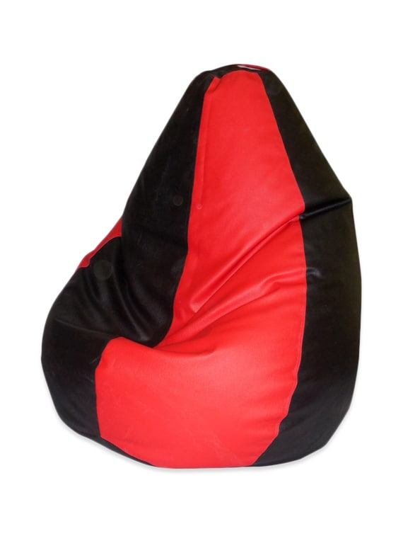 Buy Red Black Large Bean Bag Cover By Classique Online Shopping