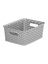 Stainless Steel Basket With Handle - Curver