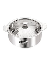 Stainless Steel Insulated Chapati Casserole 2350Ml -  online shopping for Casseroles