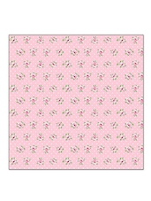 Sanaa Floral Printed Table Napkin Set Of 2PCS-Pink Comb.-40x40 CM - By