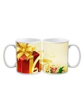 Christmas Gift Box Printed Mug - Start Ur Day