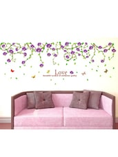 Wall Stickers Floral Vine Climbing Border Design Ceiling Beautiful Clematis Barbara Dibley - By
