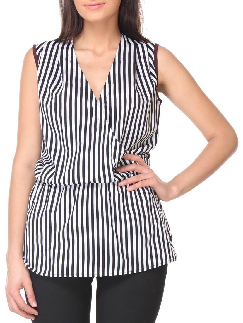 4b19b05efdba90 Buy Kaaryah Black Poly Crepe Top for Women from Kaaryah for ₹1120 at 0% off