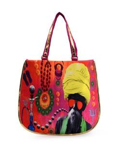 Indian Pop Art Print Bag - Jorie Bazaar