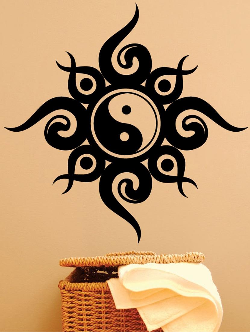 Magnificent Yin Yang Wall Art Adornment - Art & Wall Decor ...