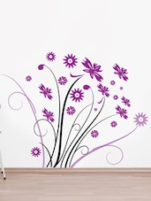 Floral Branch Style Wall Sticker - Decor Kafe