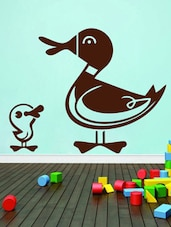 Duck With Duckling Wall Sticker - Decor Kafe