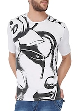 white 100% cotton tshirt -  online shopping for T-Shirts