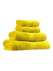 Trident Cotton Towel set of 4 -  online shopping for towels