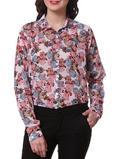 Floral Printed Full Sleeve Shirt - Purys