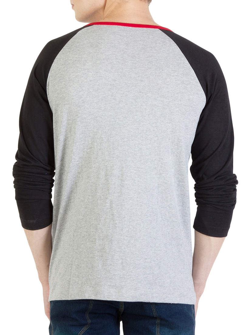 b73a49466a6 Buy Grey Cotton T-shirt by Rigo - Online shopping for T-shirts in India