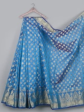 Jacquard Weave Cotton Silk Saree - BANARASI STYLE