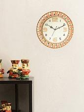 ECraftIndia Decorative Retro Wall Clock - 14 Inch - By