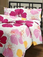 Floral Printed Polycotton Single Bed Ac Blanket - ECraftIndia