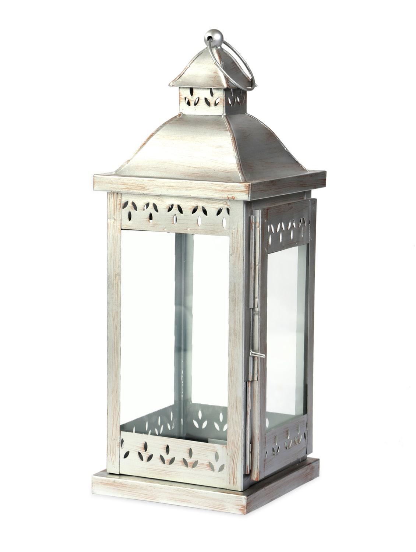 antique iron lantern