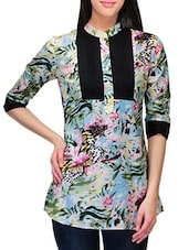 Floral Printed Cotton Top - Stilestreet