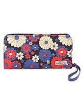 Floral Printed Multicolor Wallet - Adaira