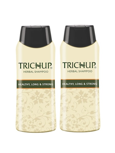 Trichup Healthy Long & Strong Herbal Hair Shampoo ( 200 ml) (Pack of 2) - 10591615 - Standard Image - 1