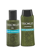 Trichup Anti-Dandruff Kit (Anti Dandruff Oil  (100ml), Anti Dandruff Shampoo (200ml)) - By