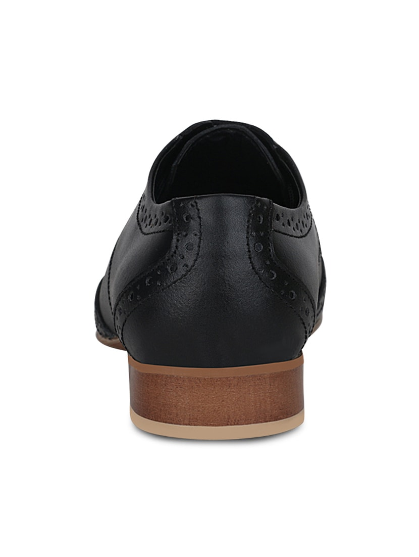 868080e697491 Buy Black Suede Formal Shoes by Get Glamr - Online shopping for Formal Shoes  in India