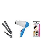 STYLE MANIAC Ceramic Hair Straightener & Hair Dryer - By