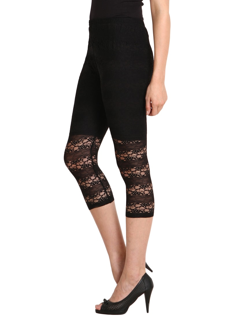 d2844909131 Buy Black Net Legging for Women from Soie for ₹756 at 10% off ...