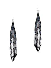 Black Brass Necklaces And Earring - By