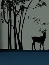 """ Love For Nature "" Wall Sticker - Creative Width Design"