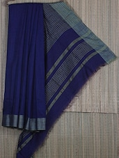 Bengal Handloom Resham And Assam Muga Saree - Cotton Koleksi - 1068966
