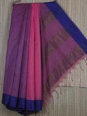 Handwoven Resham And Kota Saree - Cotton Koleksi