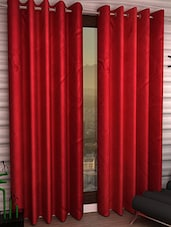 K Décor Beautiful Polyester Long Door Curtain - 1 Pc - By