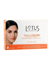 Lotus Herbals Natural Glow Skin Radiance 1 Facial Kit Kit - By