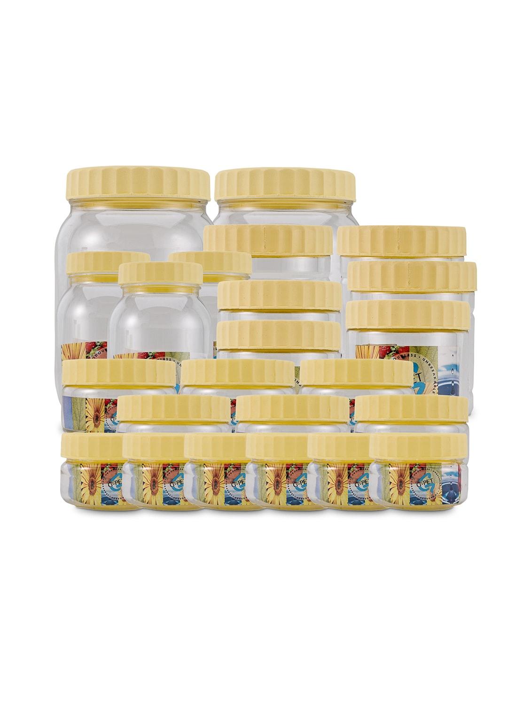 round container 50 ml  6pcs , 150 ml  6pcs , 200 ml  3pcs , 250 ml  3pcs , 300 ml  3pcs , 500 ml  2pcs  set of 23