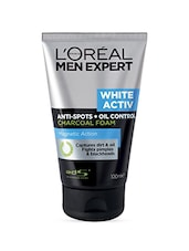 L'Oreal Men Expert White Activ Oil Control Charcoal Foam, 100ml - By