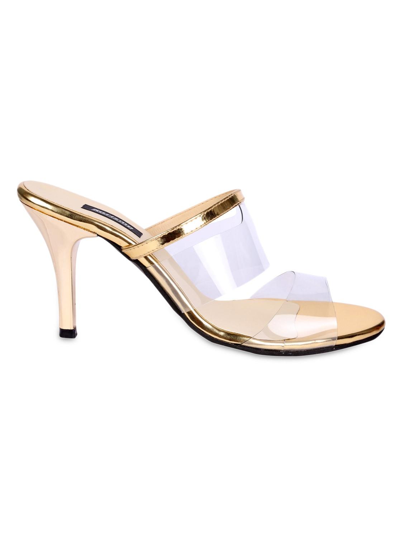 991dde46348 Transparent strap slip on sandals