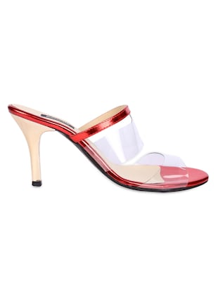 44fee5cc64a Buy Transparent Strap Slip On Sandals for Women from Karizma Shoes ...