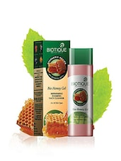 Biotique Bio Honey Gel Refreshing Foaming Face Cleanser, 120ml (Pack Of 2) - By
