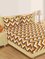 Chevron Printed Cotton Bed Linen Set - Skipper