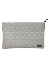 White Faux Leather Sling Bag - Bern