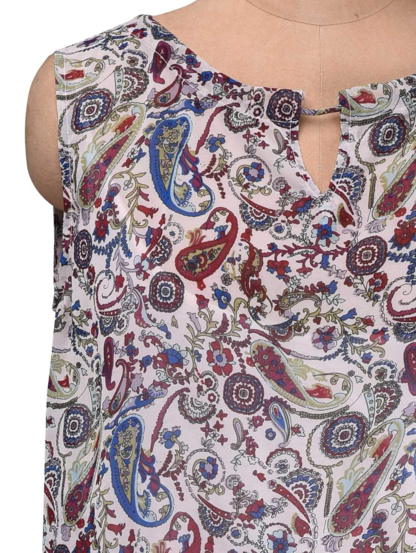 6fecca24181 Buy Paisley Print Blouson Top Maxi Dress for Women from Vaak for ...