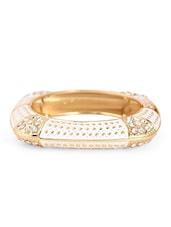 Gold & White Metal Alloy Bracelet - Bg's