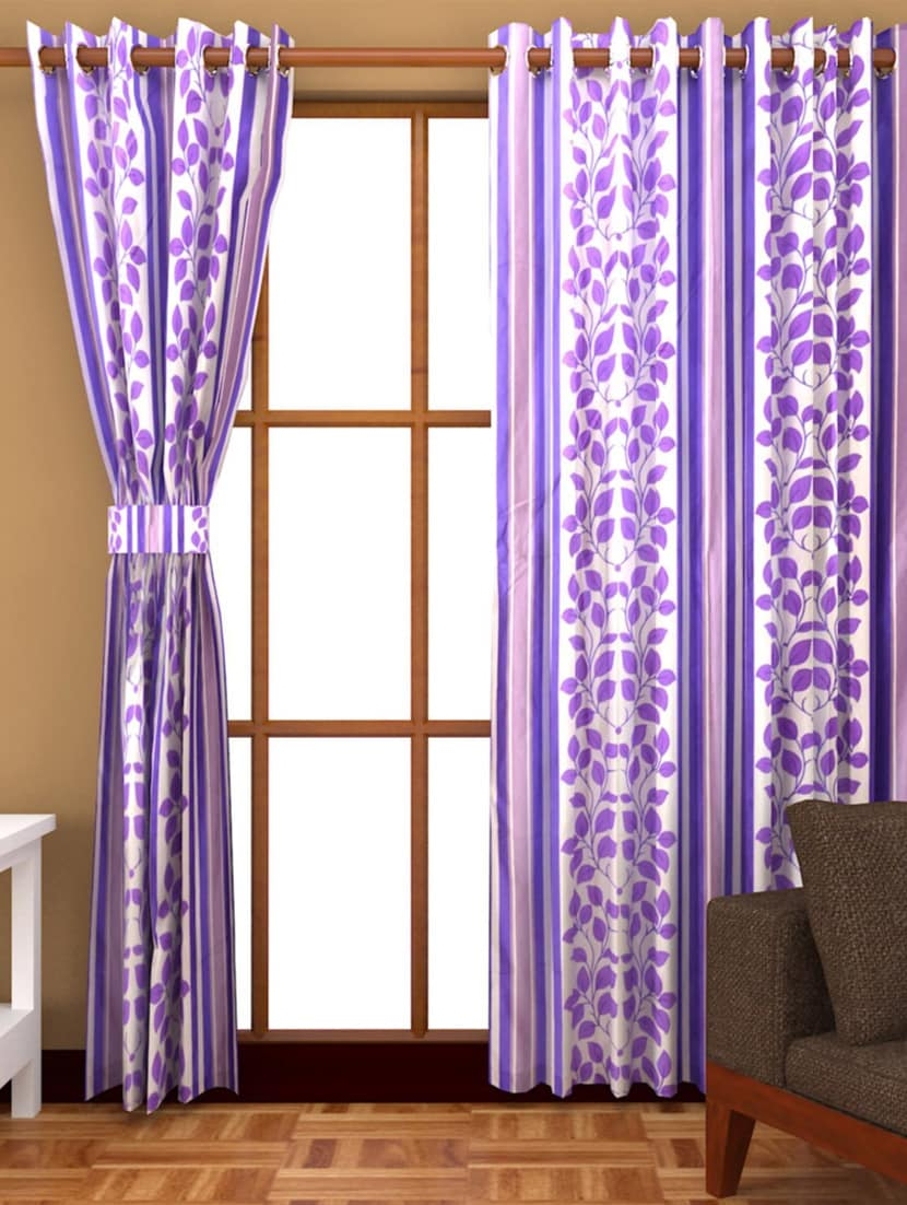 70adda03a0 Buy K Décor Set Of 6 Polyster Door Curtain - 6 Pc (dct6-012) by K Decor  Home - Online shopping for Curtains in India