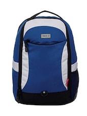 blue, light grey polyester laptop bag -  online shopping for Laptop bags
