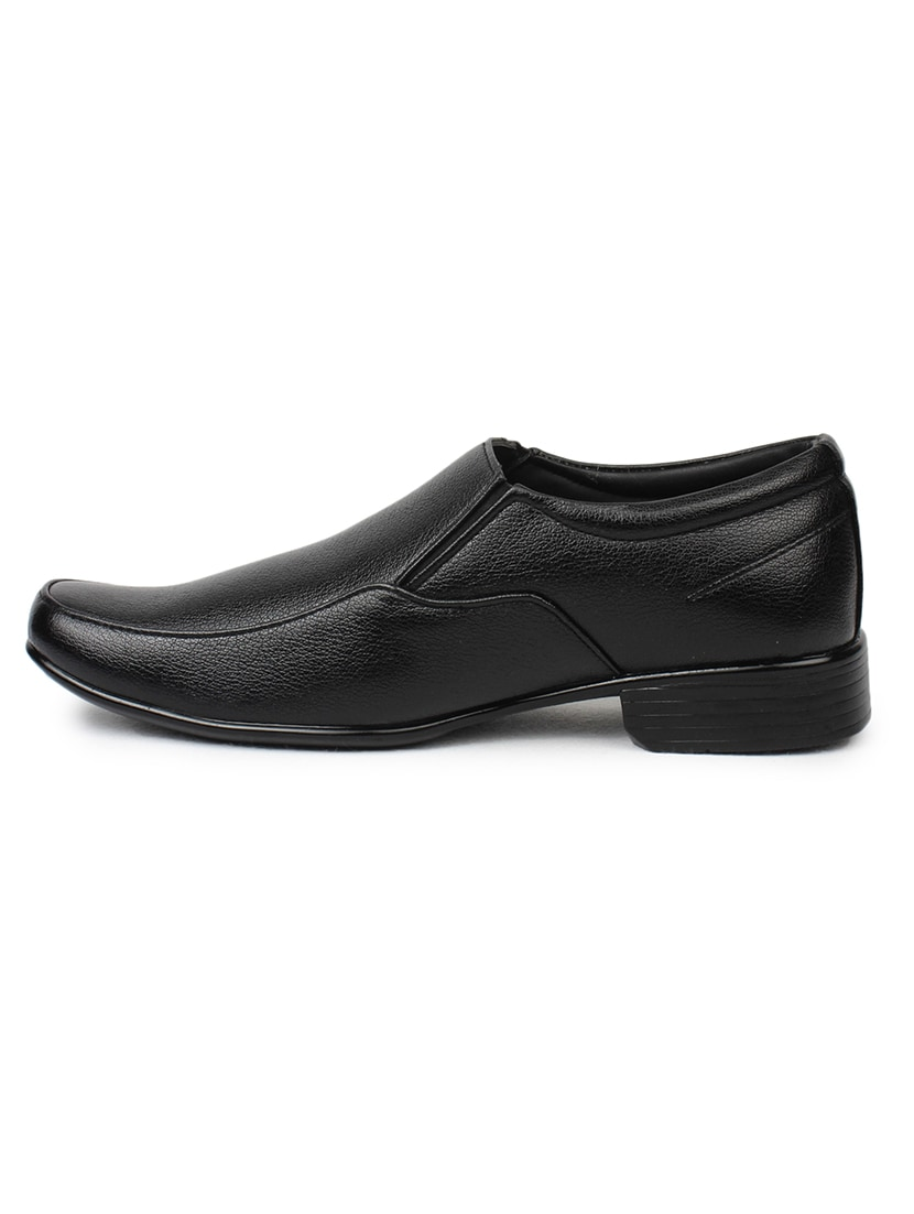 30fffa3cfb3d Buy Black Leather Formal Shoes by Dotcom By Action Shoes - Online shopping  for Formal Shoes in India