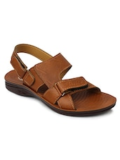 tan leatherette floater -  online shopping for Floaters
