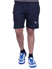 navy blue cotton blend boxer -  online shopping for Boxers